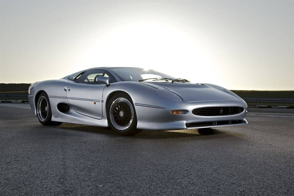 The Jaguar XJ220 is the fastest Jaguar out there