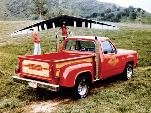 1978 Dodge Lil' Red Wagon