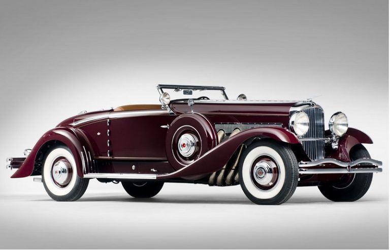 1935 Duesenberg SJ Convertible Coupe