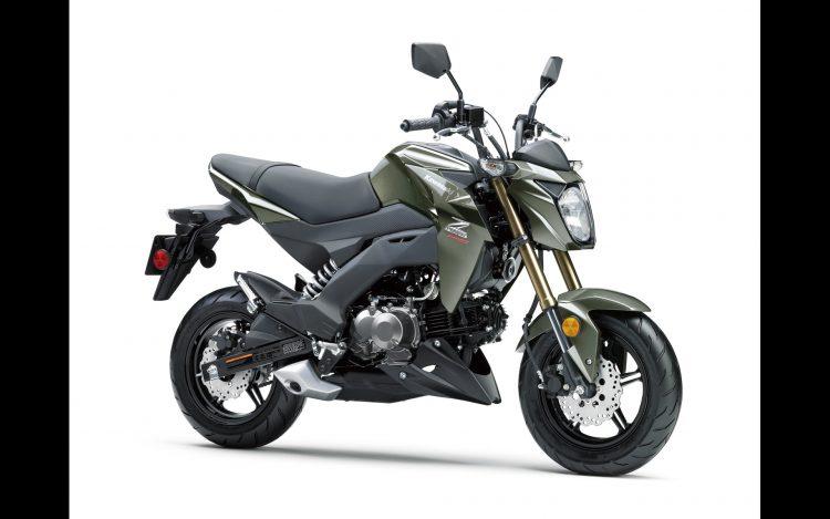 2018 Kawasaki Z125 Pro 4