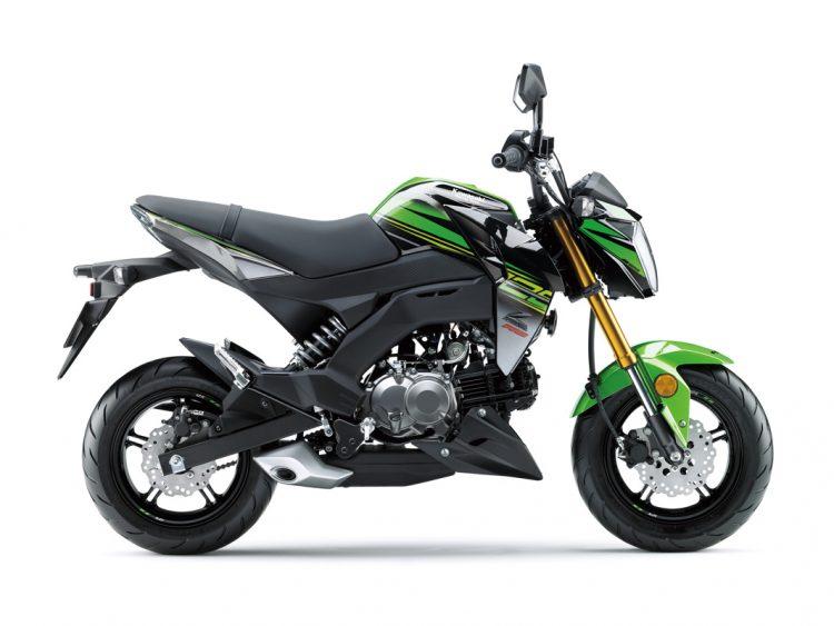 2018 Kawasaki Z125 Pro 7