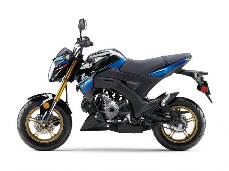 2018 Kawasaki Z125 Pro 6