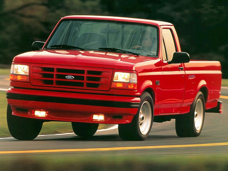 1993 Ford F-150 Lightning Muscle Trucks