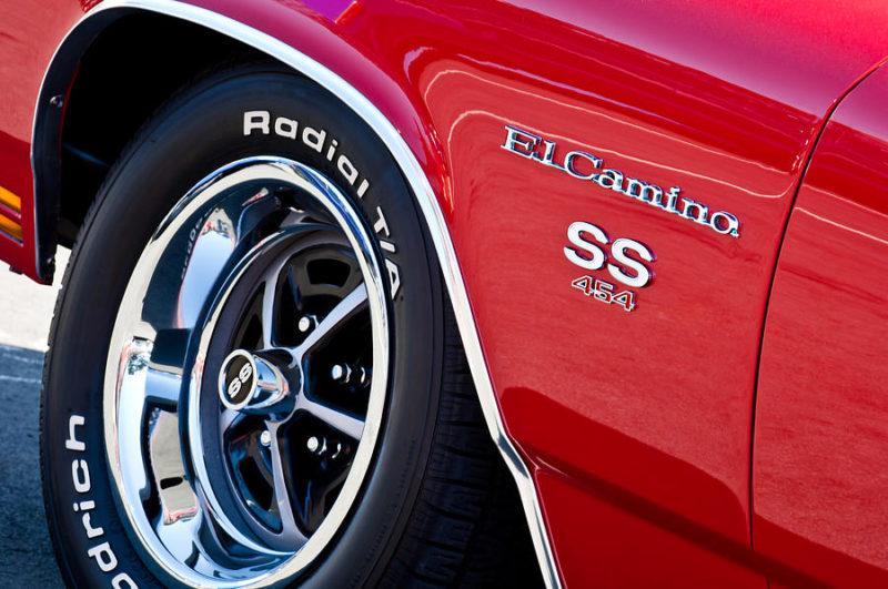 1970 El Camino 454 SS LS6