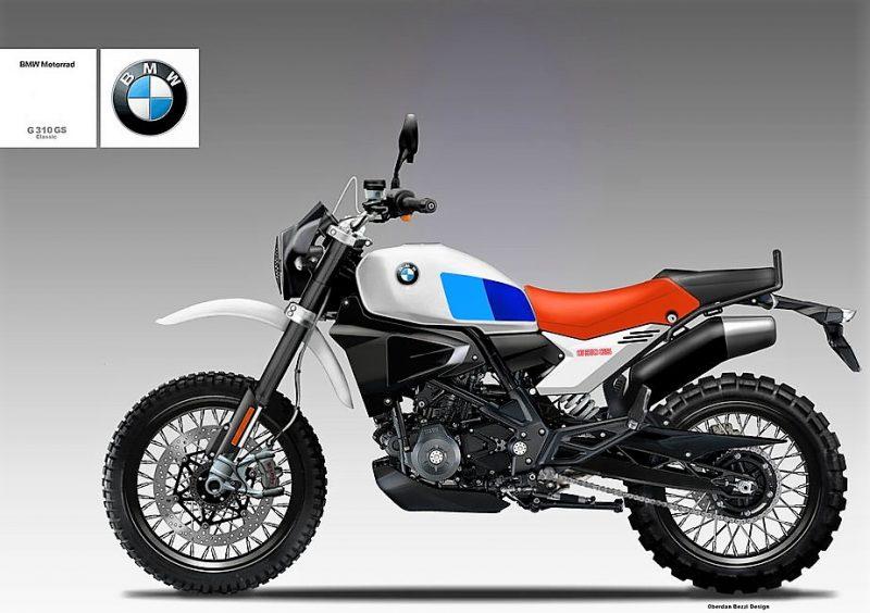 BMW G310R Scrambler Concept 1