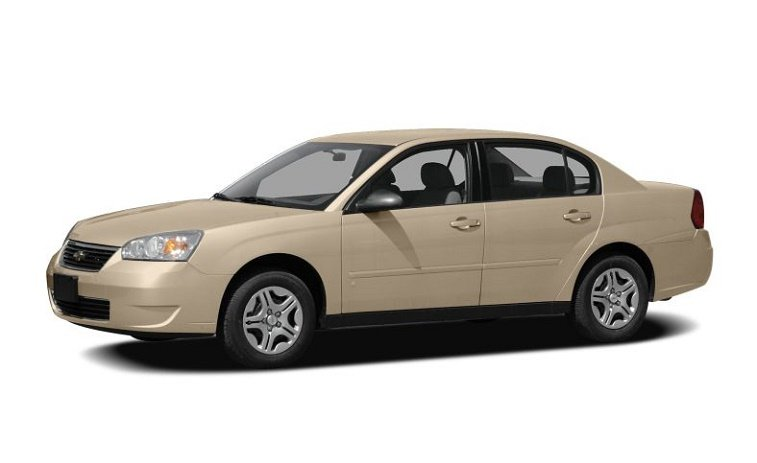 A gold Chevrolet Malibu Classic