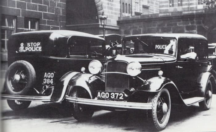 Ford Model B Police Cars