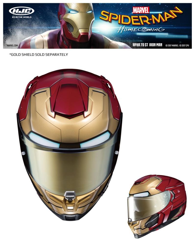 HJC Iron Man Helmet 2