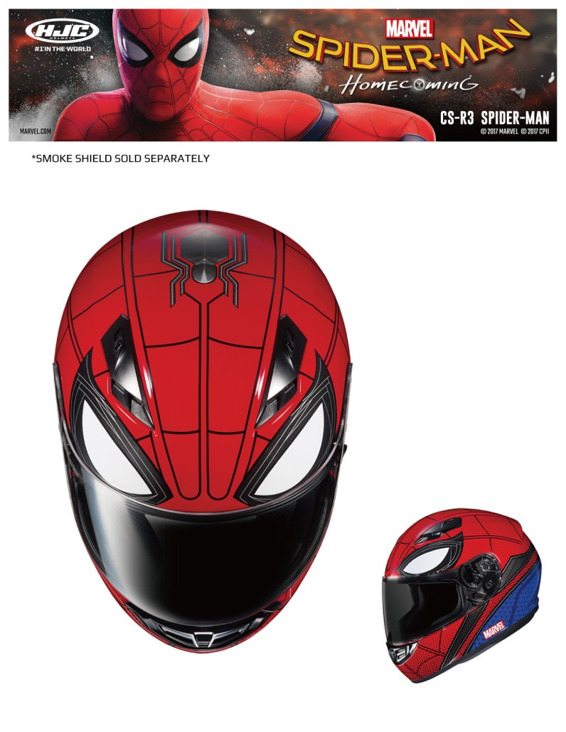 HJC Spiderman Helmet 1