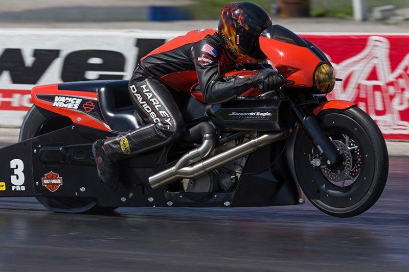 Harley Street Rod Drag Racer 2