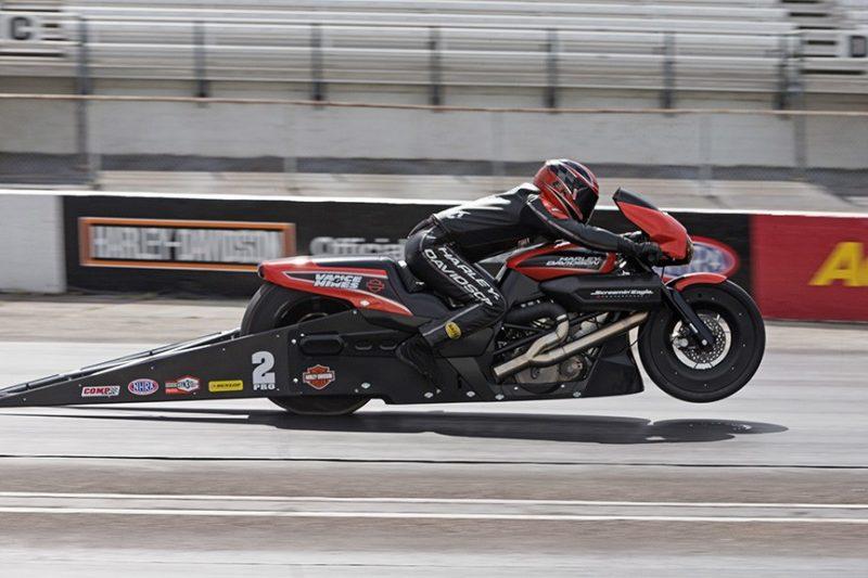 Harley Street Rod Drag Racer 3