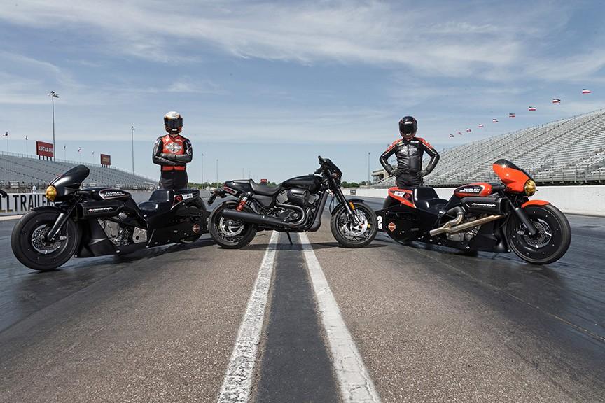 Harley Street Rod Drag Racer 4