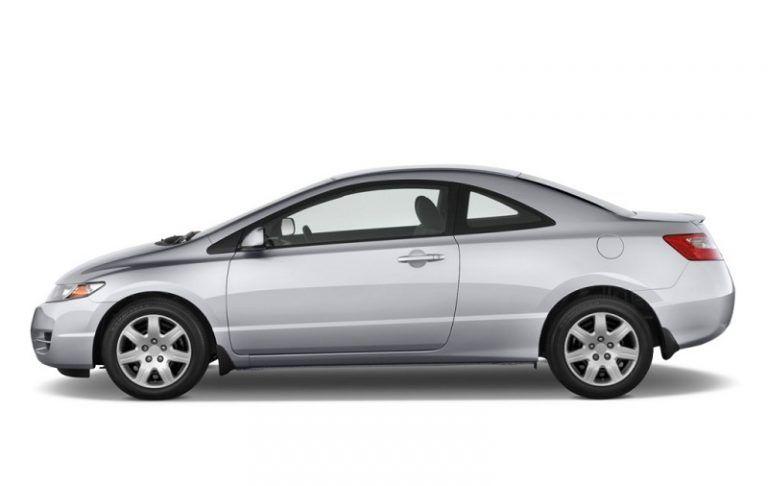 A silver Honda Civic