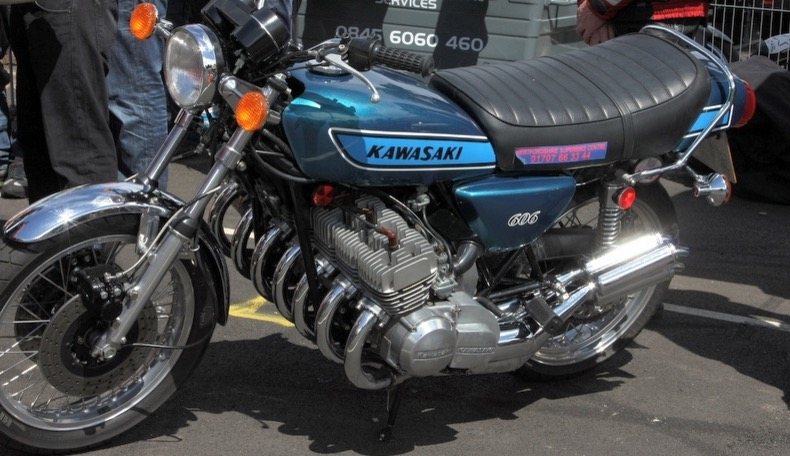 Check Out This Seven Cylinder Two Stroke Kawasaki: The KH606!