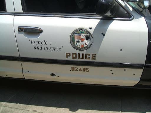 Police Vehicles Aren't Bulletproof