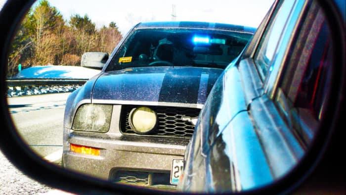 Unmarked Cop Car