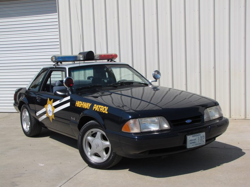 Coolest Cop Cars Ever - Ford Mustang Highway Patrol