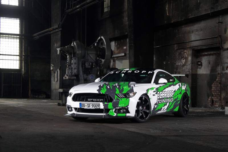 German Schropp Tuning Creates 807 HP Ford Mustang