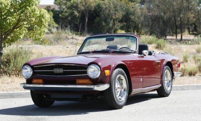 1969-1976 Triumph TR6