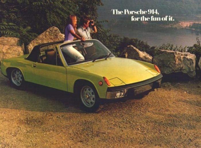 1970-1976 Porsche 914