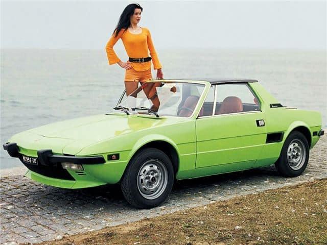 1974-1987 Fiat Bertone X1/9