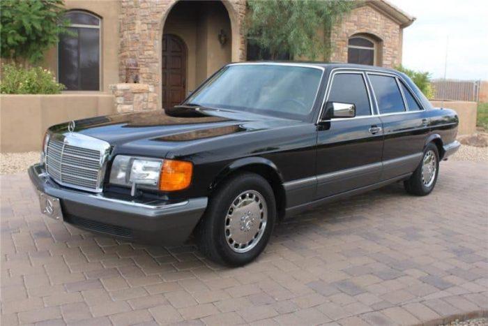 1985-1991 Mercedes-Benz W126 500 SEL, SEC