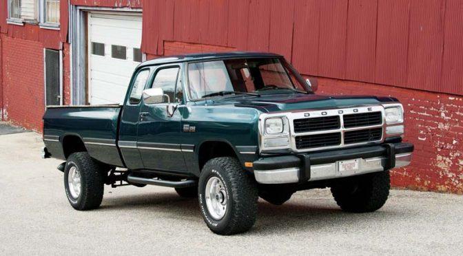 1993 Dodge W250 pick-up diesel