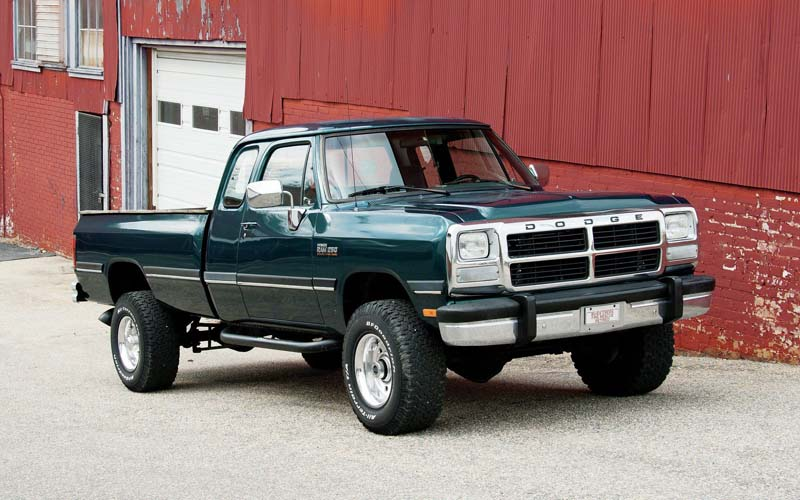 1993 Dodge W250 pick-up diesel