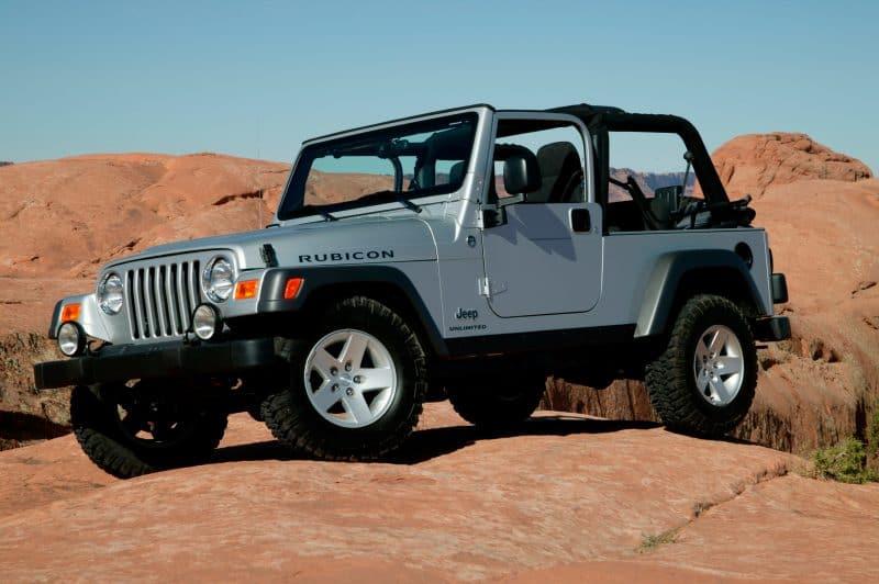 Best 4x4 SUV Classics - 1997-2006 Jeep Wrangler TJ