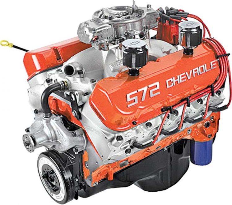 572 Chevrolet Crate Engine