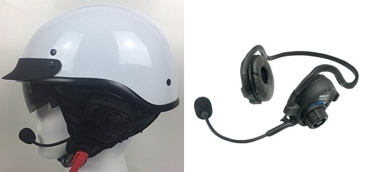 Daytona Powersports Bluetooth Half Helm