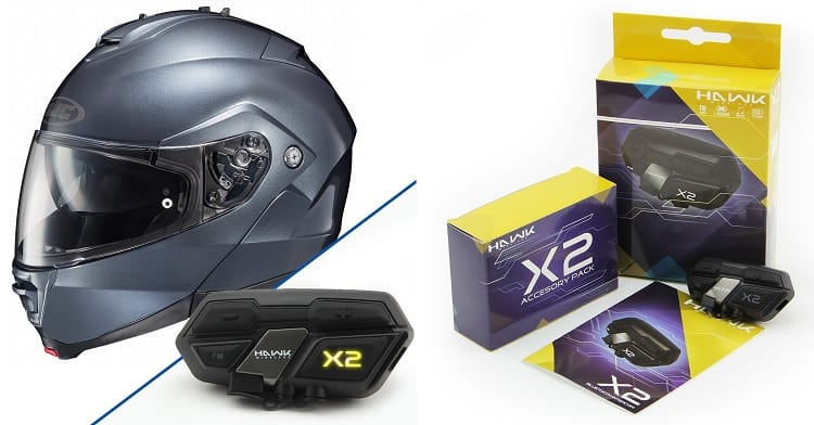 Bluetooth Motorcycle Helmets - HJC IS-Max II Anthracite