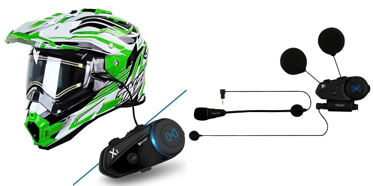 Bluetooth Motorcycle Helmets - Snow Master TX-27