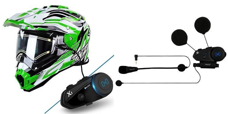 Best Bluetooth Motorcycle Helmet - Snow Master TX-27 Bluetooth Off-Roader