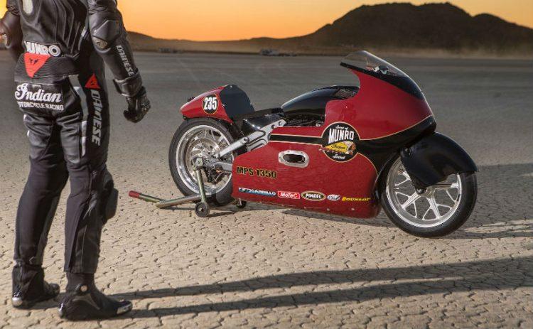 Lee Munro Land Speed Record 4