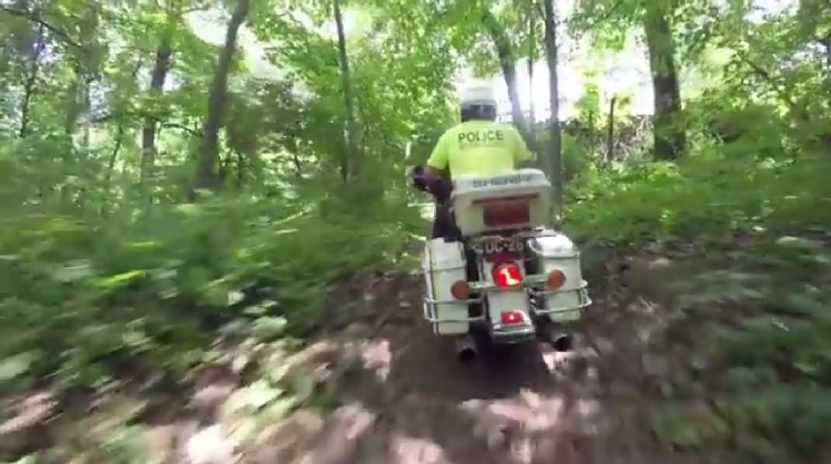 Watch The New York Motorcycle Cops In Training! It's Tough! (Video)