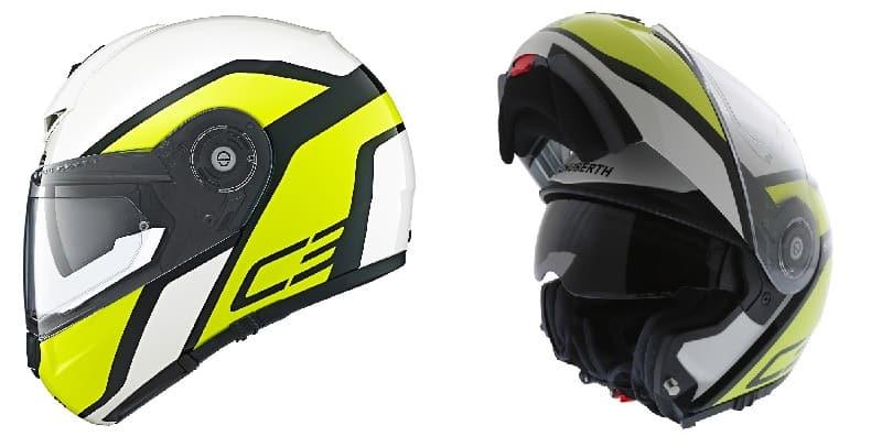 Schuberth C3 Pro Bluetooth Motorcycle Helmet