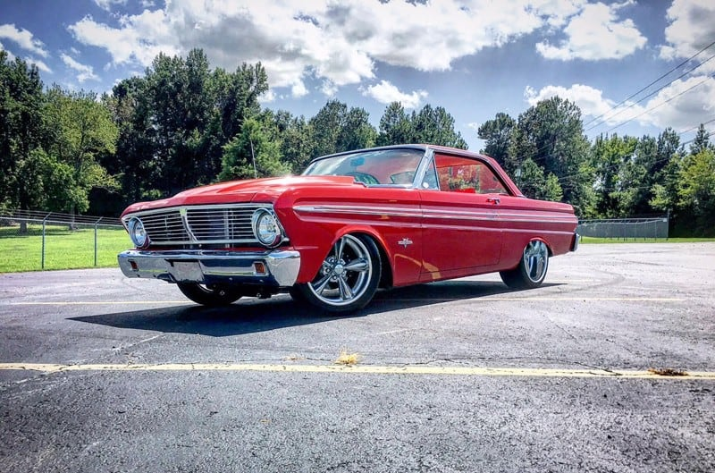 1965 Ford Falcon Gets a Coyote Heart