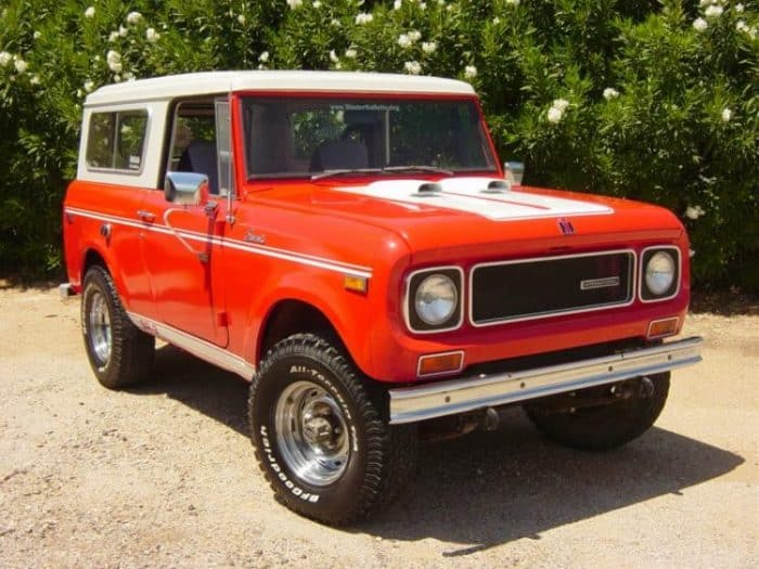 Best 4x4 SUV Classics - 1960-1980 International Harvester Scout