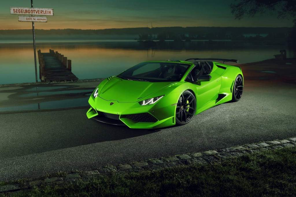 novitec lambo huracan spyder n largo widebody with staggering 860hp. Black Bedroom Furniture Sets. Home Design Ideas