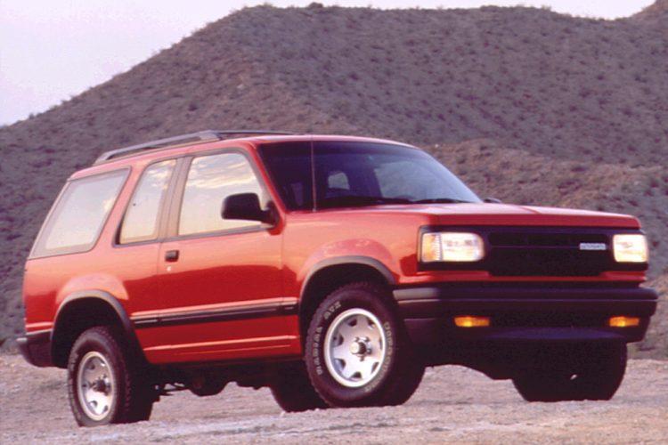 forgotten off-road SUVs Mazda Navajo