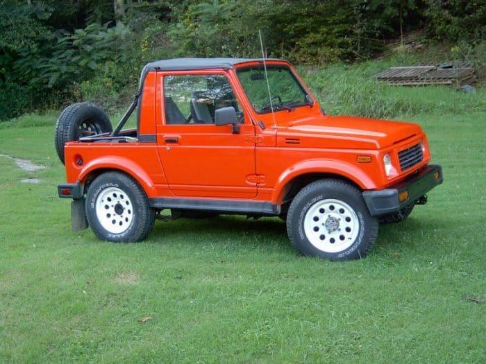 Best 4x4 SUV Classics - 1985-1995 Suzuki Samurai