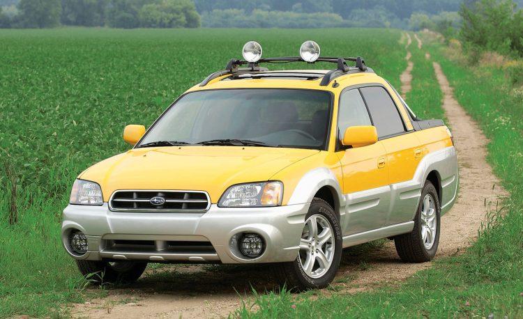 forgotten off-road SUVs Subaru Baja