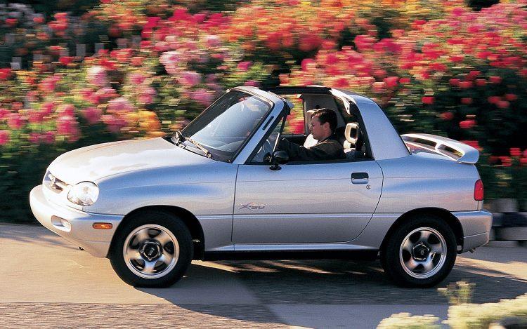forgotten off-road SUVs Suzuki X-90