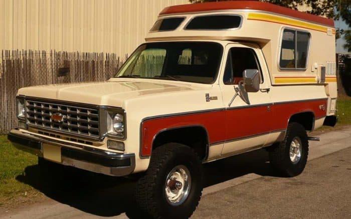 1976 Chevrolet Blazer Chalet Camper