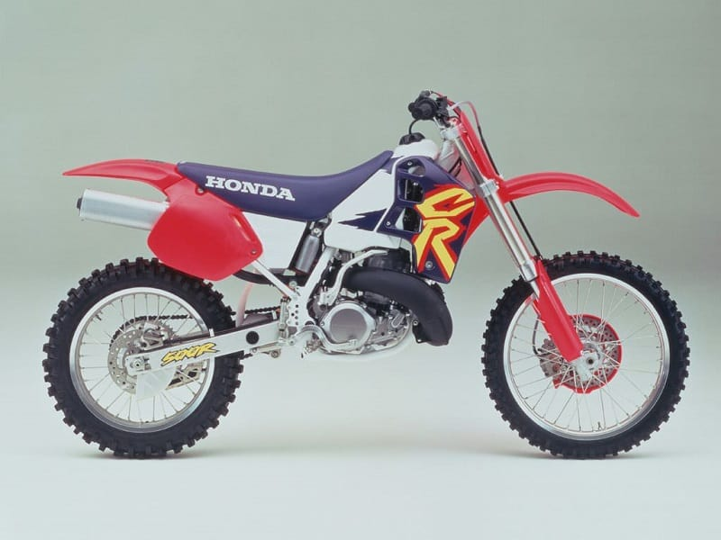 Best 2-Stroke Dirt Bikes - Honda CR500R