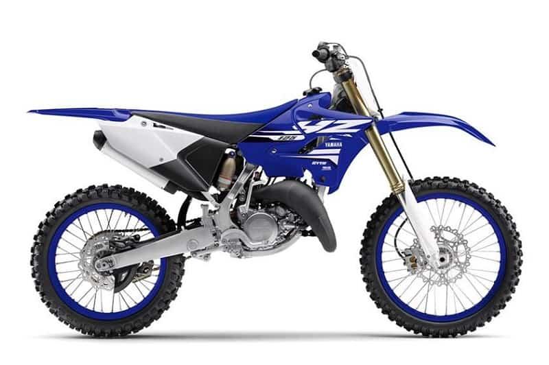 Yamaha YZ125 Side On