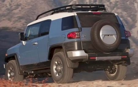 Toyota FJ Cruiser Most reliable SUV