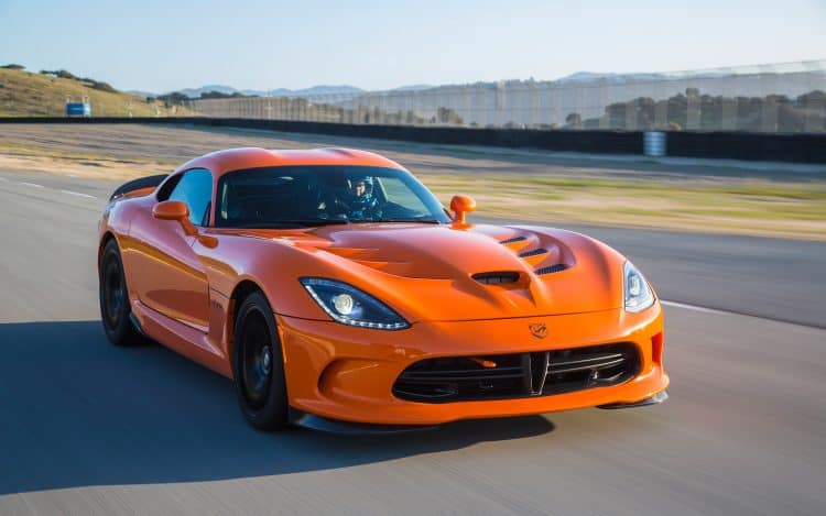 Most Powerful American Muscle Car - 2013-2017 Dodge Viper TA (640 hp)