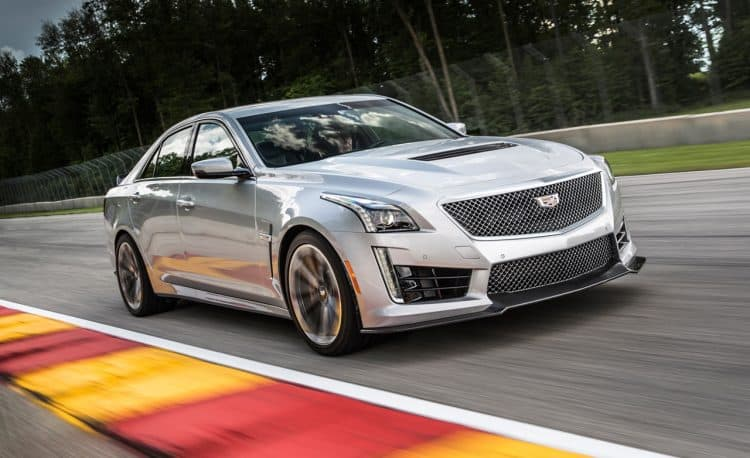 Most Powerful American Muscle Car - 2016-present Cadillac CTS-V